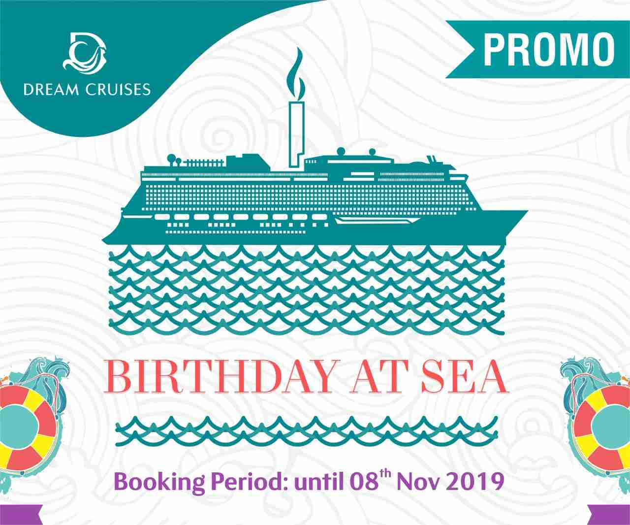 Birthday at sea